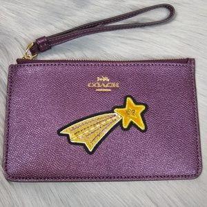 Coach Small Shooting Star Wristlet F38706
